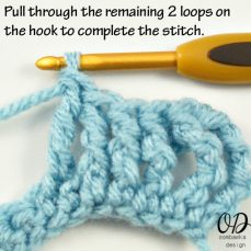 Double Triple Crochet Stitch Tutorial