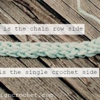 Foundation Single Crochet Tutorial