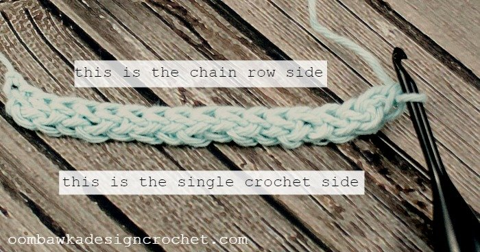 Learn how to make the foundation single crochet stitch (Fsc) with this photo tutorial.