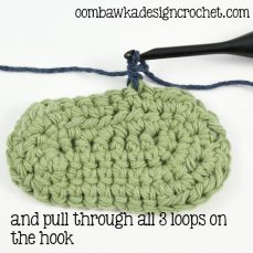 How to Join New Yarn with a Front Post Half Double Crochet Stitch Tutorial