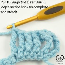 Front Post Double Triple Crochet Stitch Tutorial