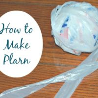 How to Make Plarn from Plastic Bags Tutorial
