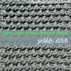 Pretty Pebbles Stitch Tutorial