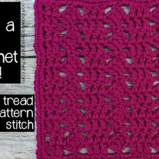 Tread Stitch Tutorial