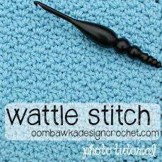 Wattle Stitch Tutorial