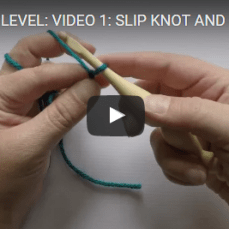 Slip Knot and Starting Chain Beginner Level Video Tutorial