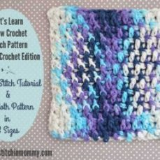 Crinkle Stitch Tutorial