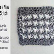 Houndstooth Stitch Tutorial