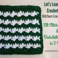 Silt Stitch Dishcloth
