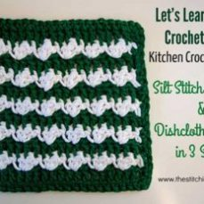 Silt Stitch Dishcloth