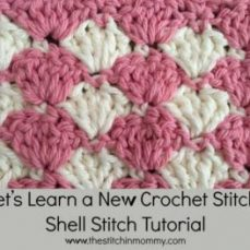 Shell Stitch Tutorial and Afghan Square