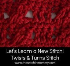 Twists and Turns Stitch Tutorial