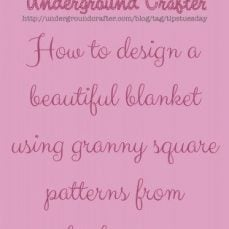 How To Combine Granny Squares from Multiple Sources Into A Single Blanket