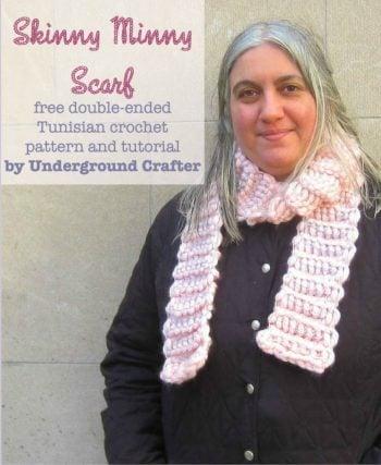 Double Ended Crochet Basic Stitch Free Crochet Tutorials