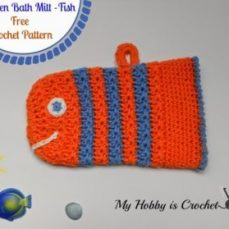 Childrens Bath Mitt Tutorial
