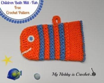 d9c691c02 Children s Bath Mitt Tutorial • Free Crochet Tutorials