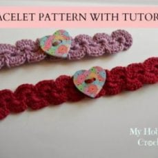 Crochet Bracelet Tutorial