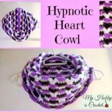Hypnotic Heart Cowl
