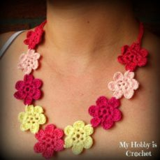 Flower Necklace Hawaiian Dream