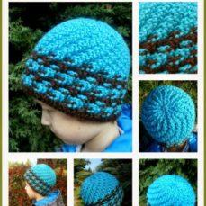Swirling Ribs Hat Tutorial