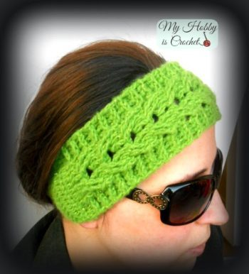 Crochet Cable Easy Fit Headband Tutorial Free Crochet Tutorials