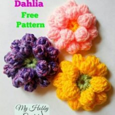 Dahlia Flower Tutorial