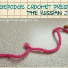 Russian Join With Acrylic Yarn