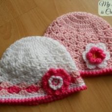 Spring Lacy Hat Tutorial