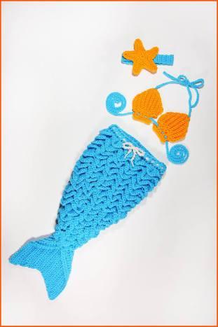 Mermaid Tail Free Crochet Tutorials