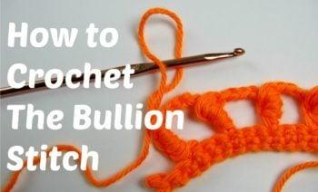 Learn How To Crochet the Bullion Stitch