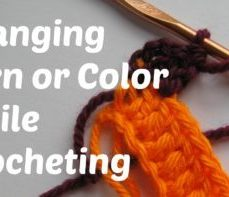 Learn how to Change Yarn Color