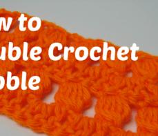 Learn How To Crochet a Double Crochet Bobble