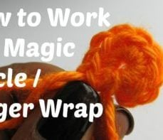 Learn How To Crochet the Finger Wrap