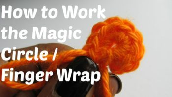 Learn How To Crochet The Magic Circle or Finger Wrap. This is just one of the tutorials available @freecrochettuts