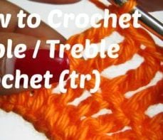 Triple Crochet Stitch Tutorial