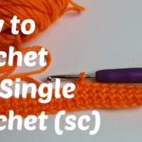 Single Crochet Stitch Tutorial