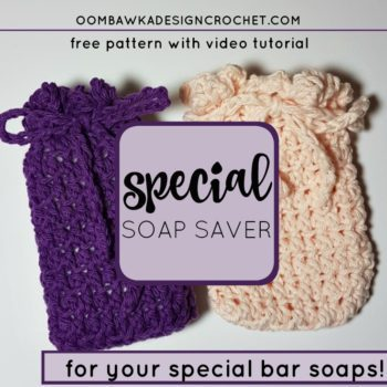 Soap Saver Pattern And Tutorial Free Crochet Tutorials