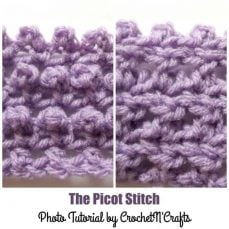 Crochet the Picot Stitch by Rhelena