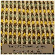 How to Crochet the CNC Seasonal Stripes by Rhelena