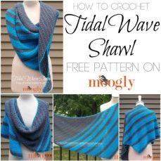 Tidal Wave Shawl Tutorial by Moogly