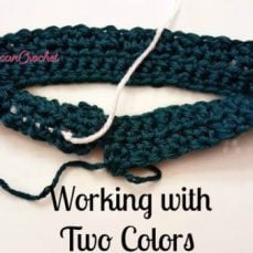 Working With Two Colors Tutorial