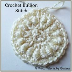 Bullion Stitch Tutorial by Rhelena