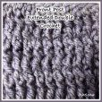 Front Post Extended Double Crochet Tutorial from Rhelena