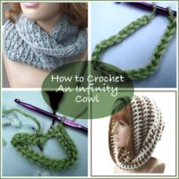 Crochet an Infinity Cowl Tutorial by Rhelena