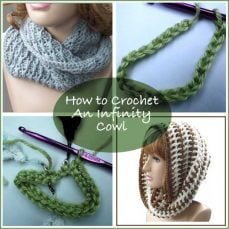 Crochet an Infinity Cowl Tutorial by Rhelena