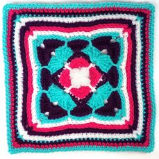 "All Aflutter 12"" Afghan Square Tutorial"