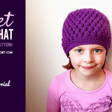 Sweet Spring Hat Video Pattern Tutorial