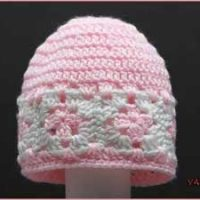 Crochet Tutorial: Mini Square Infant Hat