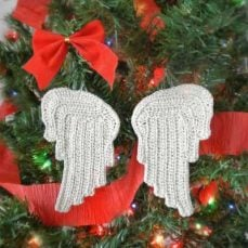 Tiny Angel Wings Crochet Tutorial
