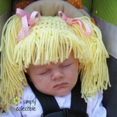 Wig Hat Crochet Tutorial – Infant and Child